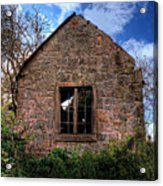 Haunted House Hdr Acrylic Print by Chris Smith