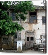 Haunted House In Bulgaria Acrylic Print