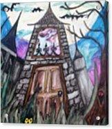 Haunted House Acrylic Print by Jenni Walford