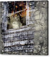 Haunted Impressions Acrylic Print