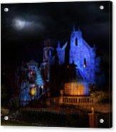Haunted Mansion At Walt Disney World Acrylic Print
