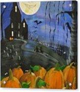 Haunted Night Acrylic Print