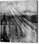 Haunted Piano Acrylic Print