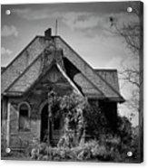 Haunted School House Acrylic Print