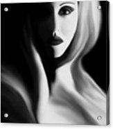 Haunted - Self Portrait Acrylic Print