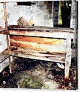 Hauntingly Desolate Turpentine Gone Acrylic Print