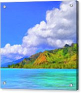 Hauru Point Moorea Acrylic Print