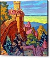 Haut Koenigsburg Castle, Alsace, France Acrylic Print