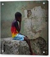 Havana Boy Acrylic Print