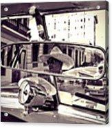 Havana Cuba Taxi Acrylic Print