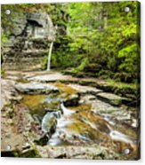 Eagle Falls Acrylic Print
