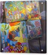 Havana Market Artwork Acrylic Print