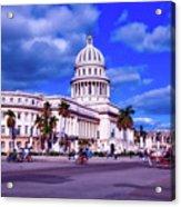 Havana National Capitol Acrylic Print