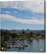 Havasu City Az Waterfront Acrylic Print