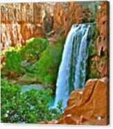 Havasu Falls Canyon Acrylic Print