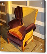 Have A Seat In Dore Alley Acrylic Print