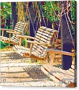 Have A Seat Relax Acrylic Print