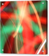 Have Yourself An Abstract Little Christmas Acrylic Print