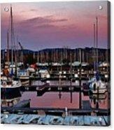 Haverstraw Marina At Dawn Acrylic Print