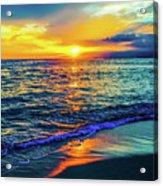 Hawaii Beach Sunset 149 Acrylic Print