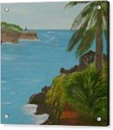 Hawaii Cliffs Acrylic Print