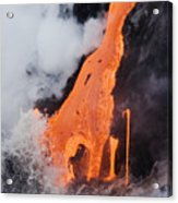 Hawaii Lava Acrylic Print