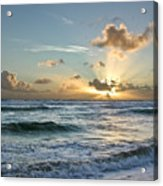 Hawaii Sunrise Acrylic Print