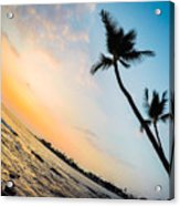 Hawaii Sunset Acrylic Print