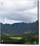 Hawaii Valleys Acrylic Print