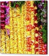 Hawaiian Flower Lei's Acrylic Print