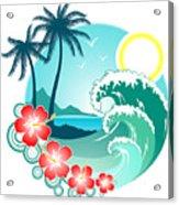 Hawaiian Island 2 Acrylic Print