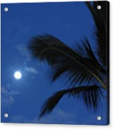 Hawaiian Moon Acrylic Print