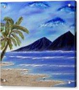 Hawaiian Palms Acrylic Print