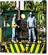Hawaiian Railway Acrylic Print