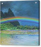 Hawaiian Rainbow Acrylic Print