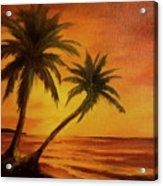 Hawaiian Sunset #380 Acrylic Print