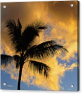Hawaiian Sunset Hanalei Bay 5  Acrylic Print