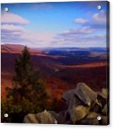 Hawk Mountain Pennsylvania Acrylic Print