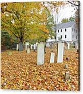 Hawke Meetinghouse - Danville New Hampshire Acrylic Print