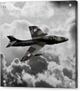 Hawker Hunter Acrylic Print