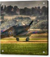 Hawker Hurricane Mk 1 R4118 Takeoff Acrylic Print