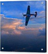 Hawker Hurricane On Dawn Patrol Acrylic Print