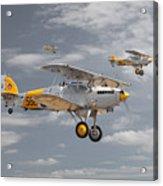 Hawker Nimrod Acrylic Print