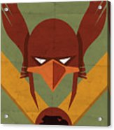 Hawkman Acrylic Print by Michael Myers