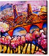 Hawthorne Bridge Acrylic Print