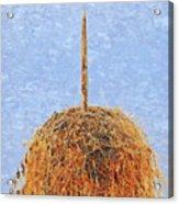 Hay Bale Acrylic Print