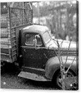 Hay Truck Acrylic Print