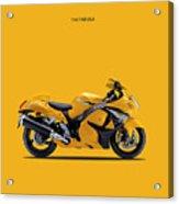 Hayabusa In Yellow Acrylic Print