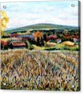 Haycock Mountain In Bucks County Pa Acrylic Print