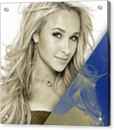 Hayden Panettiere Collection Acrylic Print